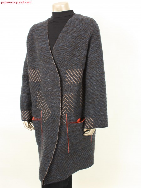Oversized Fully Fashion coat / Oversized Fully Fashion Mantel