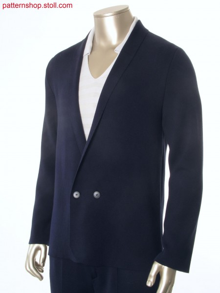 Fully Fashion blazer in interlock fabric / Fully Fashion Blazer in Interlockgestrick