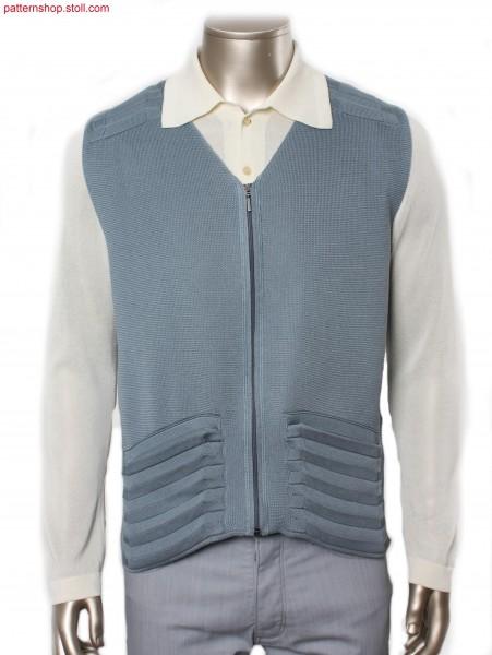 Fully Fashion zipper waistcoat / Fully Fashion Rei