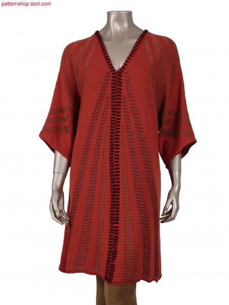 Fully Fashion raglan coat in A-line / Fully Fashion Raglanmantel in A-Linie
