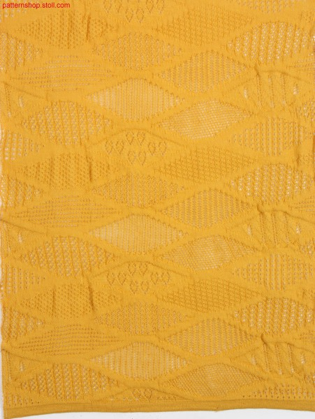 Pattern with pointelle structure / Petinet-Strukturmuster