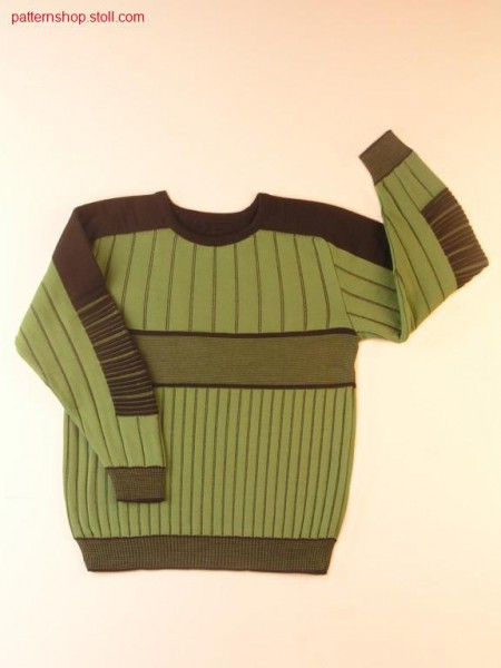 FF-children's pullover with saddle-shoulder / FF-Kinderpullover mit Sattelschulter