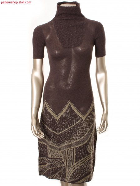 Fully Fashion jersey dress / Fully Fashion Rechts-Links Kleid