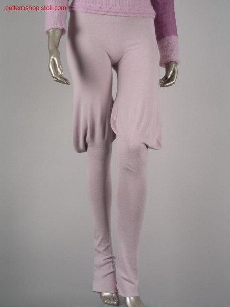 Jodhpurs in jersey with 2x2 elastic waist / Reithose in Rechts-Links mit 2x2 Elastikbund