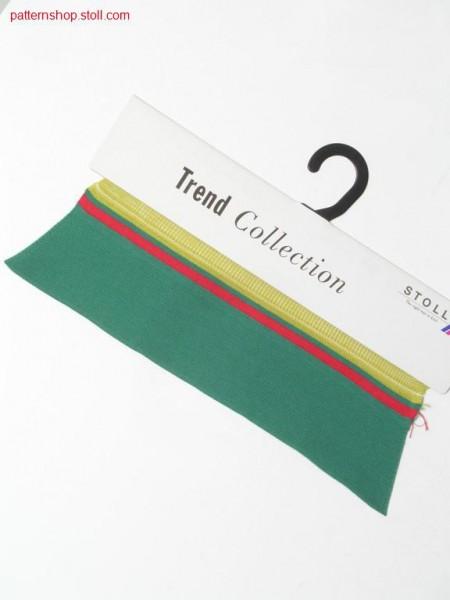 Fully fashion shirt collar in milanese fabric / Fully Fashion Hemdkragen in Milano-Rib