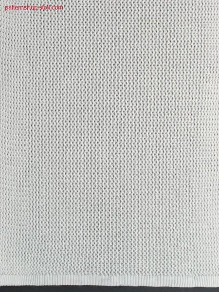 Racking pattern with drop stitch / Versatzmuster mit Nadelzug