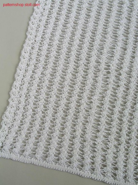 Structure pattern in crochet optic / Strukturmuster in H