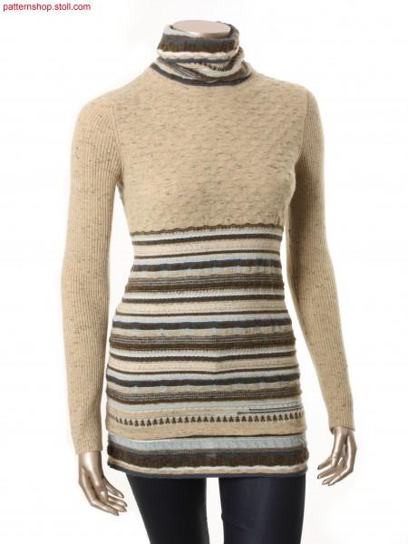 Fully Fashion-intarsia pullover / Fully Fashion-Intarsia Pullover