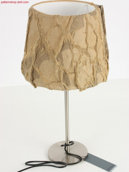 3-colour plated lampshade cover / 3-farbiger Lampenschirm-Bezug