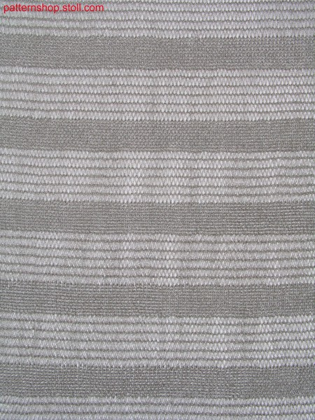 Structured stripes with cast off / Strukturringel mit Abwerftechnik