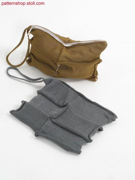 Wrist bag with inner lining / Handgelenktasche mit Innenfutter