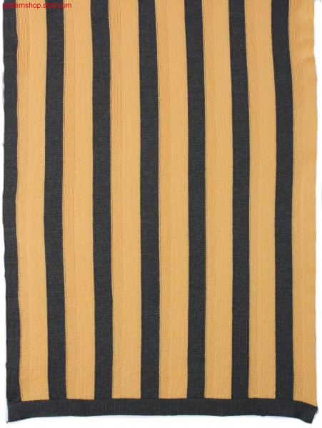 Intarsia pattern with stripes / Intarsiamuster mit Streifen