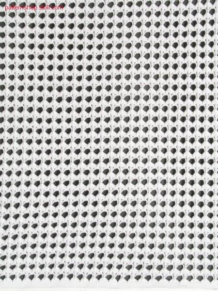 Pattern in crochet look / Muster in H