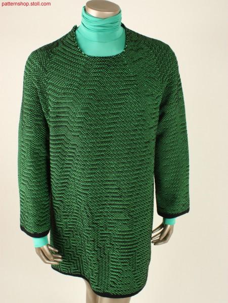 Seamless oversized sweaterdress / Nahtloses übergroßes Sweaterkleid
