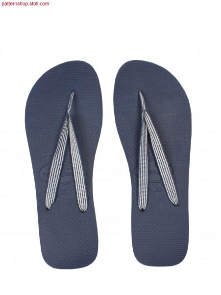 Flip flop strap / Flip-Flop Riemchen
