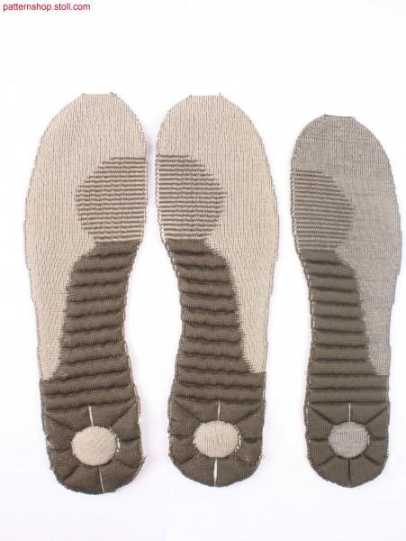 Midsole and sockliner combined in one piece / KombinierteZwischen- und Einlagensohle