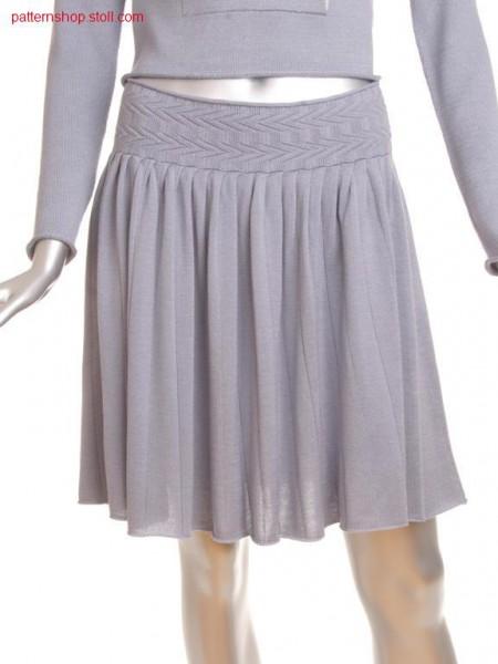 Fully fashion pleated skirt / Fully Fashion Faltenrock