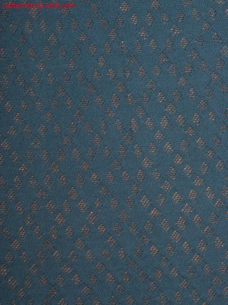 Diamond pattern by pointelle