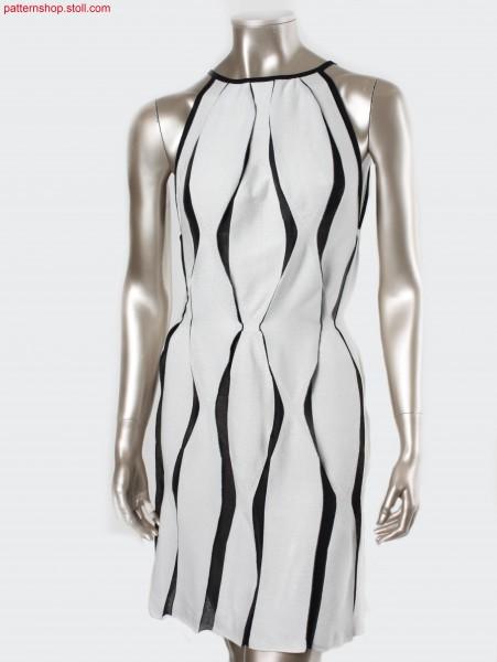 Dress, made up across the knitting direction / Kleid, querzur Strickrichtung konfektioniert