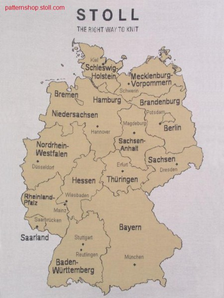 federal states of Germany / Bundesl