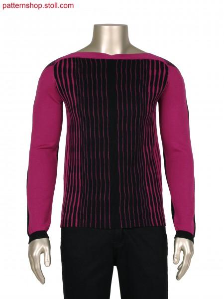 Fully Fashion 3 colour stripe pullover