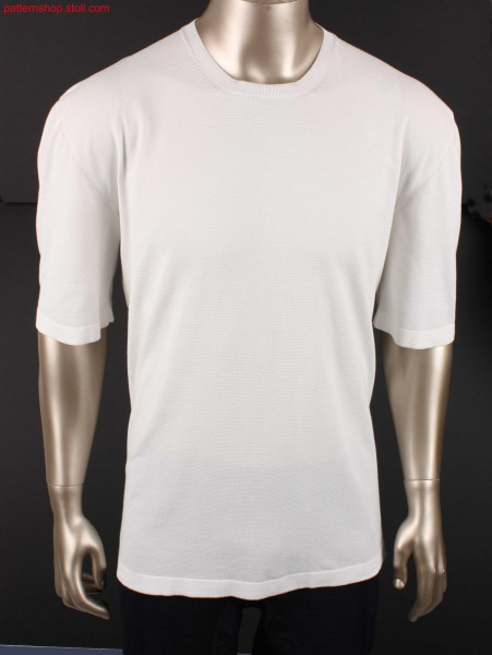 Tee with Stoll-weave-in