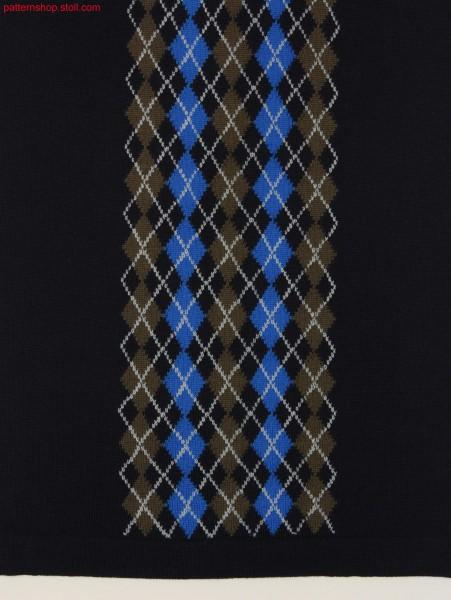 Argyle intarsia pattern / Argyle Intarsiamuster
