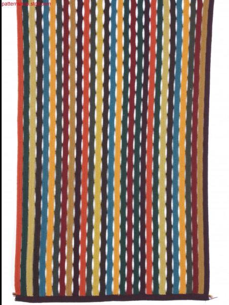 Pattern with intarsia stripes / Muster mit Intarsiastreifen