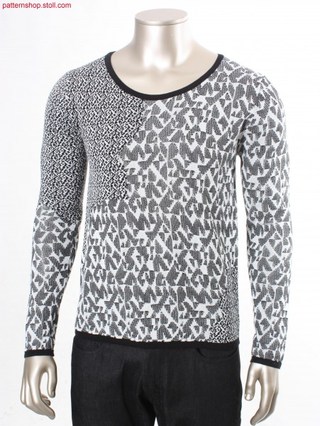 Fully Fashion pullover with French shoulder / Fully Fashion Pullover mit franz