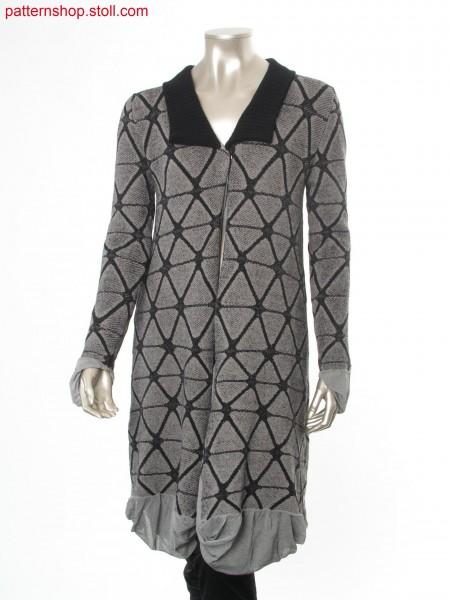 Reversible Fully Fashion coat with different designs / FullyFashion Wendemantel mit unterschiedlichen Designs