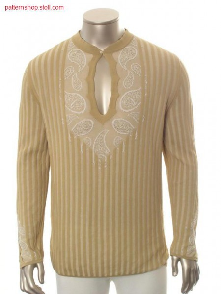 FF pullover with paisley details / FF Pullover mit Paisleydetails