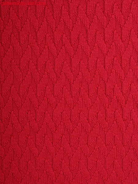 motif by front and back stitches