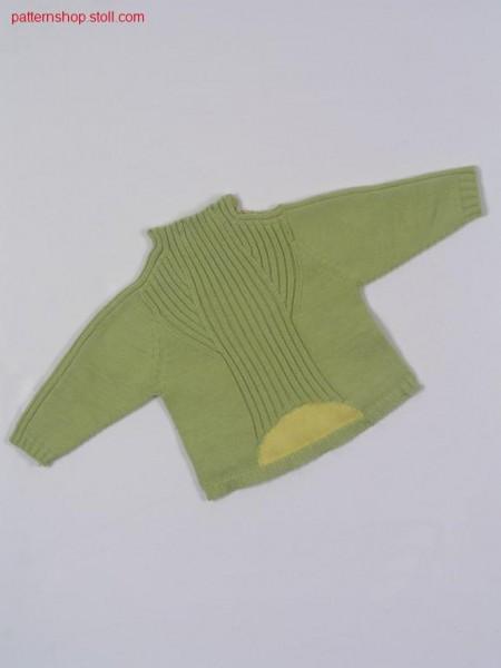 Intarsia children's pullover / Intarsia Kinderpullover