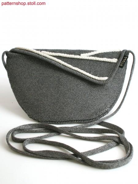 Stoll-flexible gauge&reg 7GG optic Evening bag in gore technique