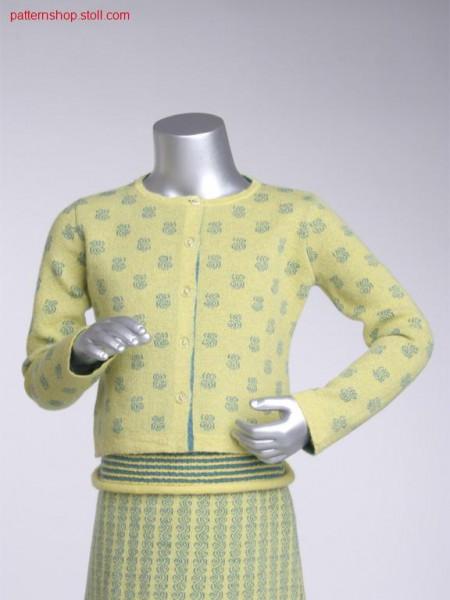 Fully fashion children's cardigan / Fully Fashion Kinderstrickjacke