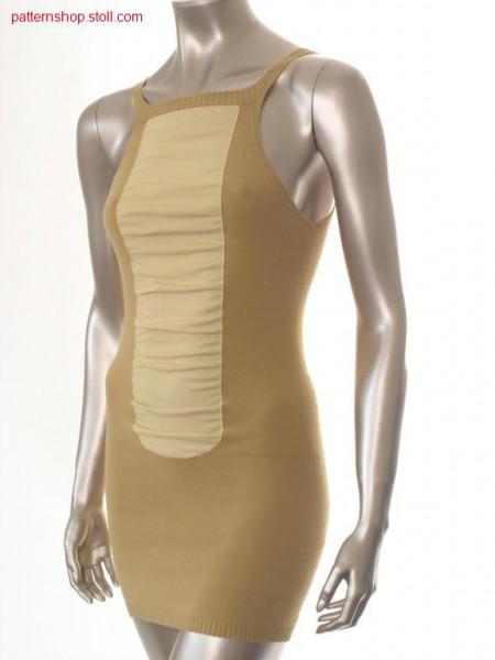 Short jersey sheath dress / Kurzes Rechts-Links Etuikleid