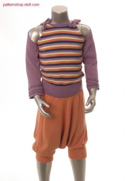 FF-children's raglan pullover / FF-Kinderraglanpullover