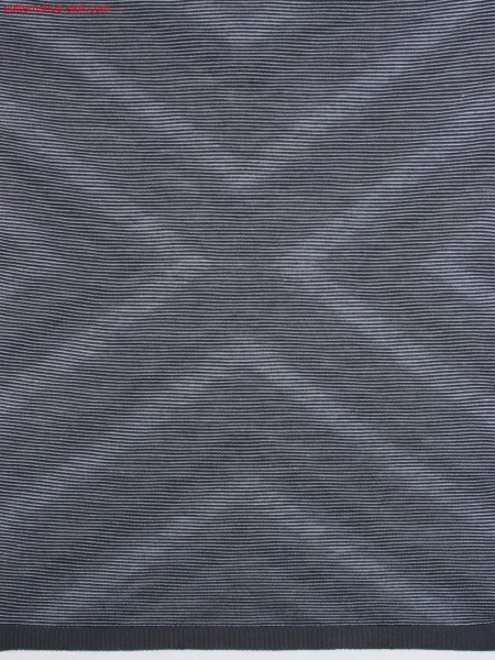 3-colour striped jersey fabric with Ombr