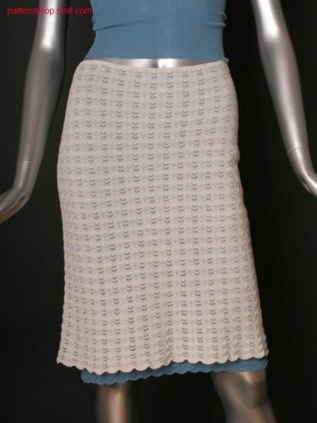 Fully Fashion skirt in layering look / Fully Fashion Rock imLagen-Look