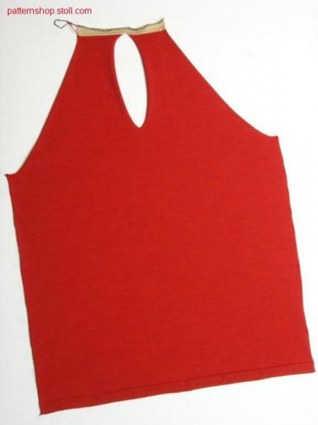 FF-jersey raglan pullover with intarsia sleeves / FF-Rechts-Links Raglanpullover mit Intarsia