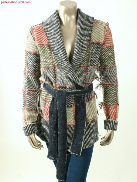 Fully Fashion checked coat / Fully Fashion Karomantel