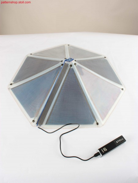 Portable outdoor solar charger / Tragbares Solar-Au