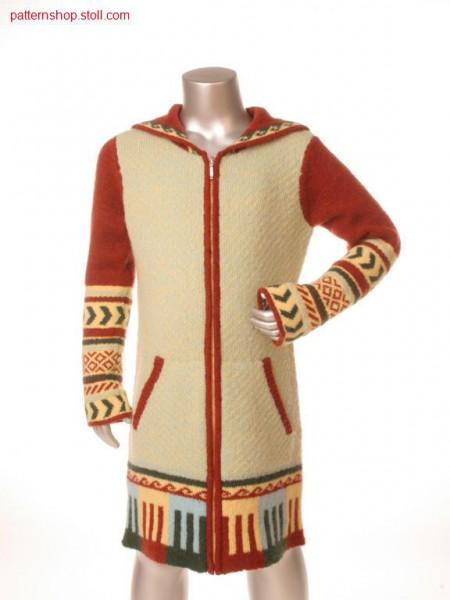 Fully fashion cildren's hooded cardigan / Fully Fashion Kinder Kapuzenstrickjacke