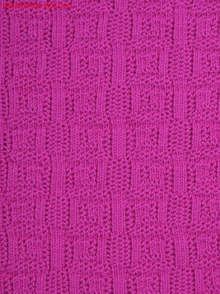 motif by front and  back stitches and alternate tucks