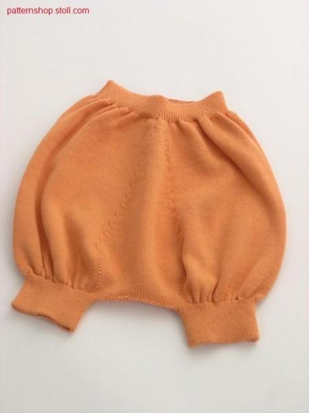 Children's trousers with 1x1 elastic waist / Kinderhose mit 1x1 Elastikbund