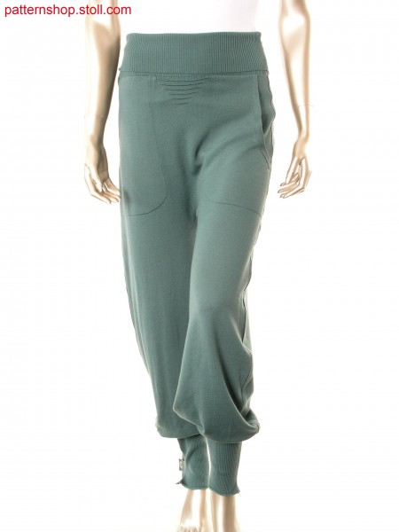 Fully Fashion trousers with bonded outer side seams / Fully Fashion Hose mit Klebeb