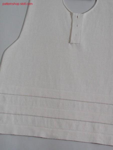F-F- front with neck opening / F-F- Vorderteil mit Halsausschnitt