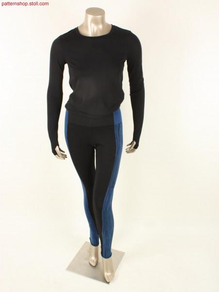 Two-piece sport tights in fine gauge / Zweiteilige Sporthose in feiner Feinheit