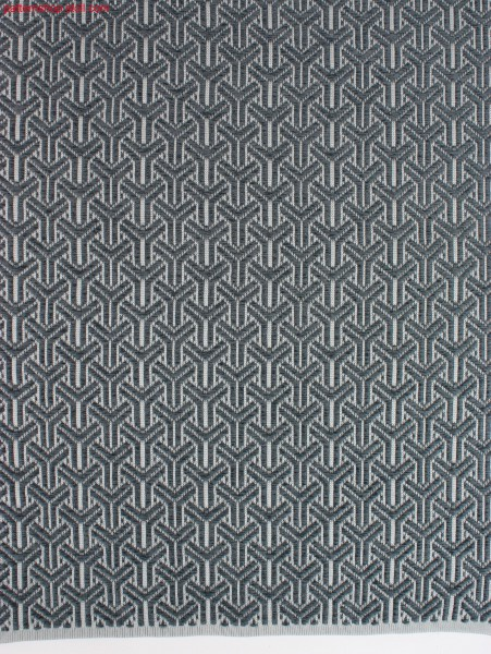 Swatch in Stoll-weave-in® Y-Patterning / Musterabschnitt in Stoll-weave-in® Y-Musterung