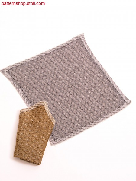 Tubular breast pocket handkerchief / Schlauch-Einstecktuch